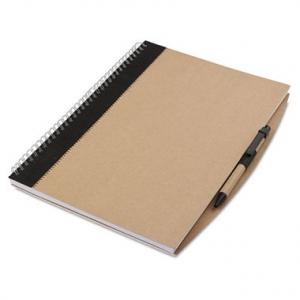 Cahier écologique avec stylo