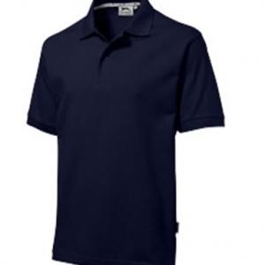Polo en bleu marine personnalisable