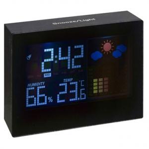 Station météo avec écran led
